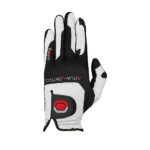 Zoom Golf Glove Grip - White, Black and Red