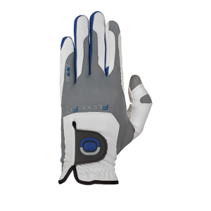 Zoom Glove Grip - White Silver Blue