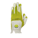 Zoom Golf Glove Weather - White Lime